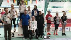 Victoria Ratz wird sechste auf Deutscher Meisterschaft der U13