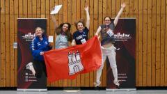 Hamburger Fechterinnen sind Deutscher Hochschulmeister