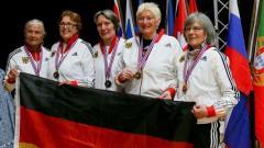 Senioren-Team-EM: Freude über Gold, Silber und Bronze